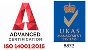 ISO 14001 Accredited